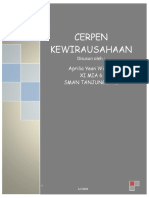 Cerpen Kewirausahaan