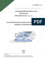 Guia Prático de Elaboração de Projeto de Pesquisa e Monografia