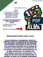 El ALBA y el ALCA