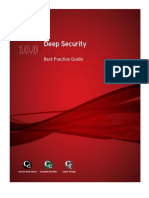 Deep Security 10 0 Best Practice Guide