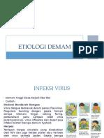ETIOLOGI DEMAM (1)