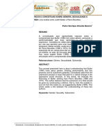 [ARTIGO] Aspectos Teoricos e Conceituais Sobre Genero Sexualidade e Subversao - Uma Analise Entre Judith Butler e Pierre Bourdieu