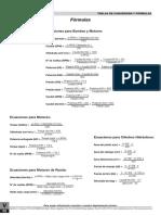Formulas de Calculo