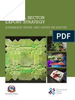 Nepal-National Export Strategy-Handmade Paper