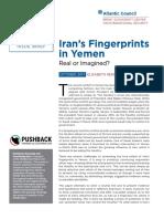Iran's Fingerprints in Yemen