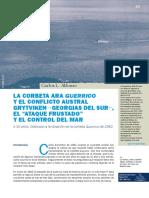 La corbeta ARA GUERRICO y el conflicto austral.