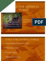 Yoga for General Public