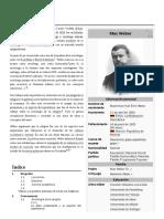 Biografía de Max Weber