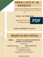 Etude de La Geolocalisation Des Mobiles Cas de Douala
