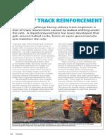 Rail Track Reinforcement Article