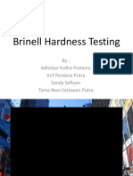 Brinell Hardness Testing Presentation