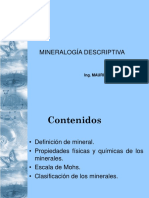 Propiedades de Minerales