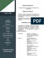 Curriculum Sisol Modelo