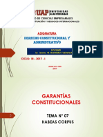 7. Habeas Corpus