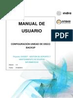 GVEDDT-Sistemas-Manual de usuario-Configuración Unidad de Disco Backup v1.0