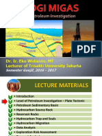 02a. Level of Petroleum Investigation