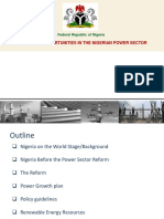 Nigerian Power Sector Investment Oppurtunities