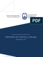 Coaching y Liderazgo Mvd 2017