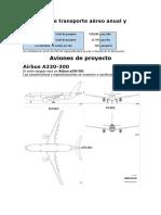 Demanda de Transporte Aéreo Anual y Diario