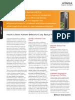 Hitachi Content Platform Datasheet