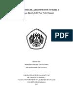 Laporan Proyek Praktikum Metoda Numerik II