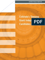 Colorado's Sleeping Giant - Centrist Project Institute