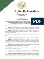101817 EO24 - Roy Cooper - Transgender Discrimination Policy
