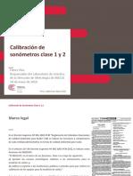 Calibracipn de Sonometros Clase 1 y 2 - Henry Diaz