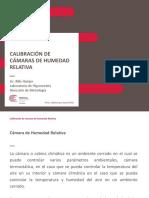Calibracin y Caracterizacin de Cmaras de Humedad Relativa - Billy Quispe