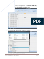 4 Ploting Dan Conturing Menggunakan AutoCAD Land Desktop