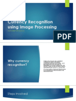 Currency Recognition Using Image Processing