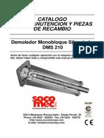 Catalogo Martillo Dms 210