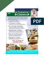 Cilantro All Cooking Courses