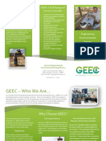 GEEC Full Service Company Trifold