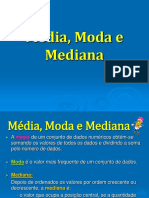 Media Moda e Mediana