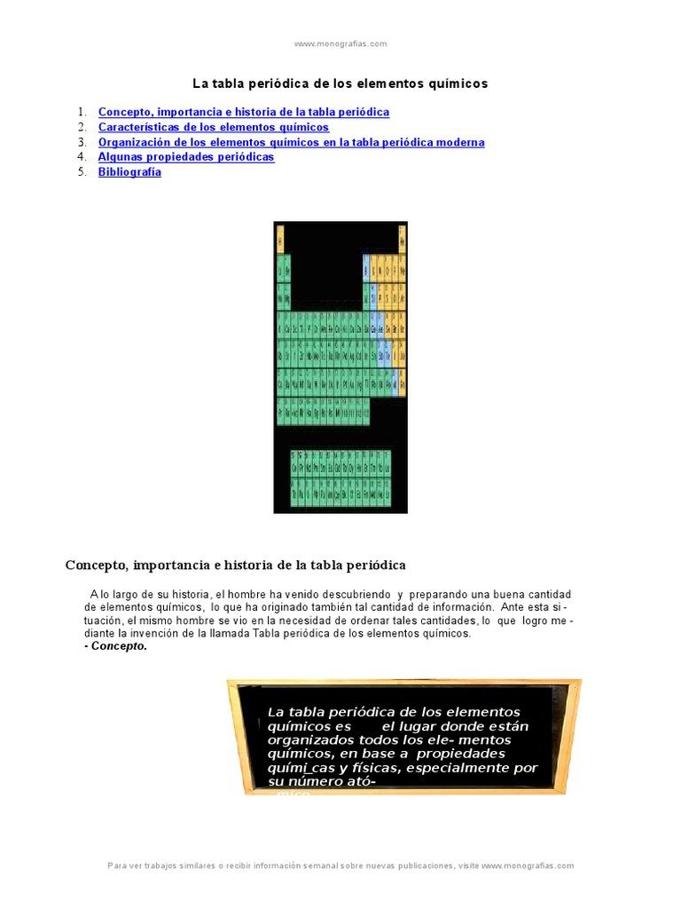 Tabla periodica elementos quimicosc urtaz Gallery