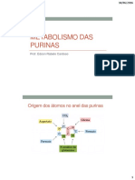 Metabolismo Das Purinas