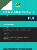 1 Clase Discapacidad Intelectual 6 Enero