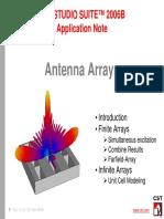 Cst Antennaarray