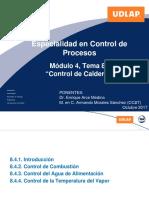 Tema 8.4 Control de Calderas 2017