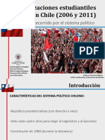 Movilizaciones Estudiantiles en Chile (2006 y 2011