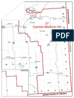 Medicine Hat maps from the 2017 Electoral Boundaries Commission Final Report
