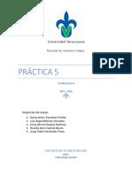 Práctica 5 Antibiograma, microbiología