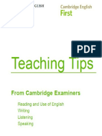 FCE TEACHING TIPS.pdf