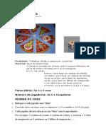 Jogo Da Pizza - Mat Frações