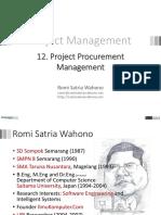 Romi Pm 12 Procurement April2013