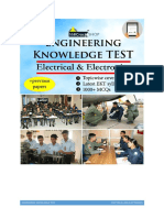 Engineering Knowledge Test eBook Electrical and Electronics