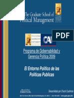 3.-El Entorno Político de Las Políticas Públicas