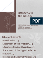 Literacy and TechnologyFinalPresentation