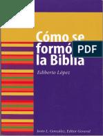 LOPEZ, Ediberto (2006), Cómo se formó la biblia. Minneapolis, Augsburg fortress.pdf